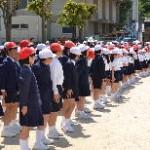 瀬戸田小学校の児童です